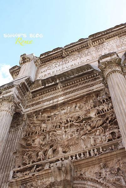 Roman Forum 17 - Arch Septimius Severus.jpg