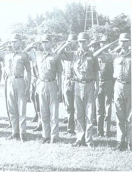 七十憶往-206師-6埔頂威武士官隊民61年-1
