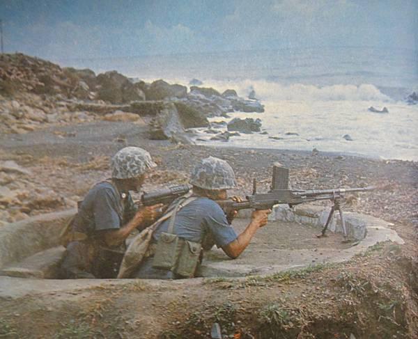 勝利之光6110-5第二屆莒光連隊警備41機槍M3衝鋒槍