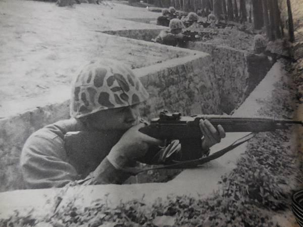 中國陸軍畫刊150期63年4月嘉南天平演習五七式步槍