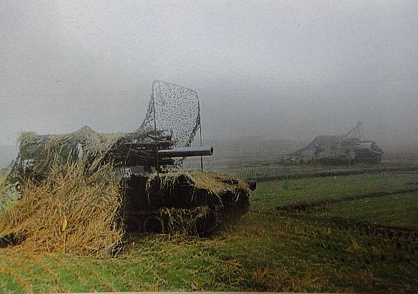 中國陸軍畫刊7006-1自製155榴自走砲師對抗野戰測試