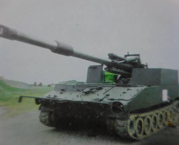 勝利之光7210-自製增程155自走砲