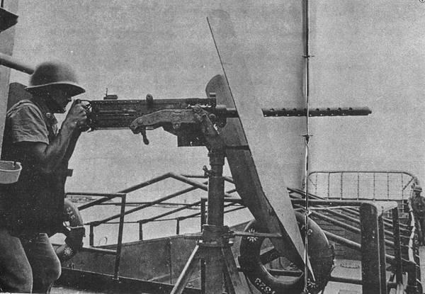 中國陸軍畫刊5907-1船舶連