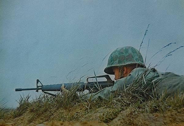 中華民國國軍民60年-M16步槍可能是首次公開