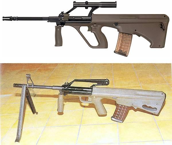 Steyr-AUG維基百科與國軍武裝報告書68式最終型.jpg