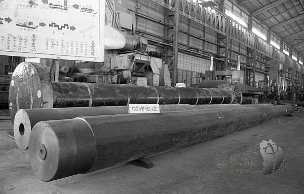 民73年台機合金鋼廠155增程砲粗胚.jpg