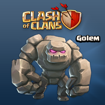 Clash of Clans Tactics - Golem New Dark Elixir Troop