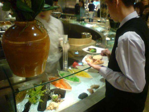 現做的握壽司