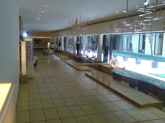 這是溫泉管走廊