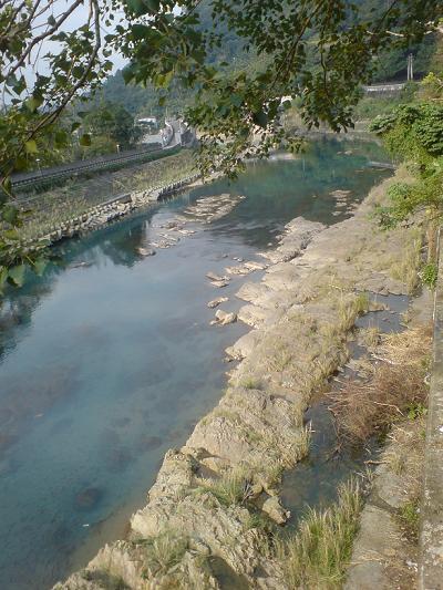 坪林的河邊