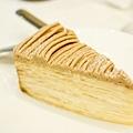 深藍咖啡館-栗子千層蛋糕