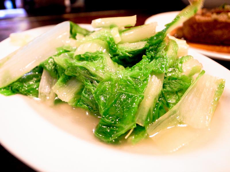 富爸爸豬腳大王-燙青菜