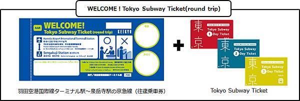WELCOME!Tokyo Subway Ticket_示例2.jpg