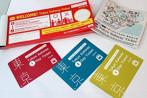 WELCOME!Tokyo Subway Ticket_示例4