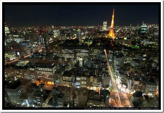 東京絕讚夜景-濱松町5