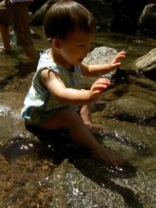 夏天玩水真開心