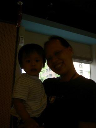 大Q比和媽咪