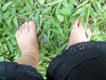 均寶貝的腳