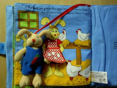 小兔子幫忙撿蛋