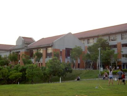 悠閒的校園