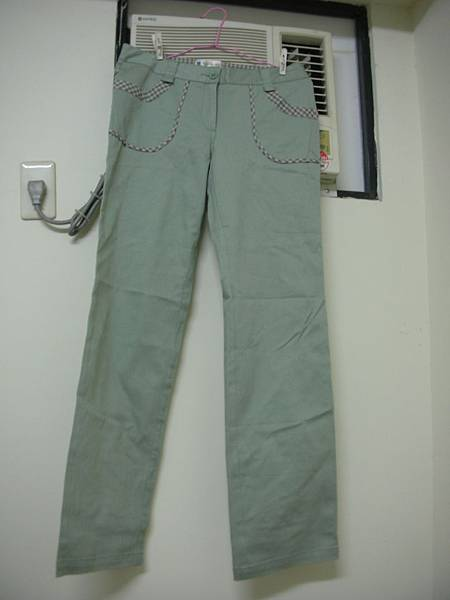 19. [全新] CottonInn 果綠色長褲