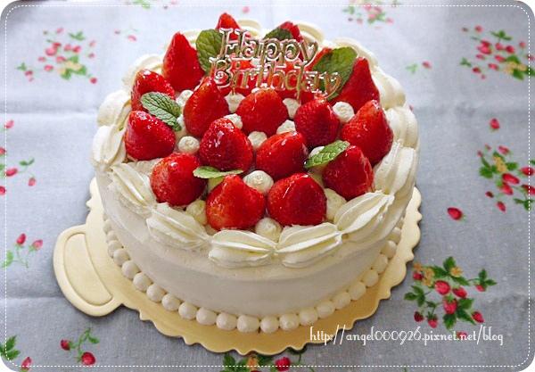 季節限定草莓鮮奶油蛋糕