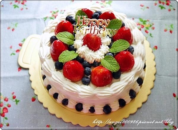 季節限定雙莓鮮奶油蛋糕