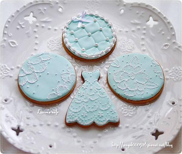 彩繪糖霜餅乾 - 婚禮系列 Part 1