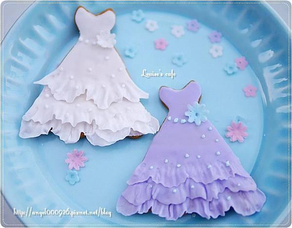 翻糖餅乾 - 婚紗
