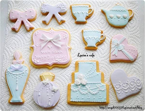 彩繪糖霜餅乾 - 最低訂購量10片