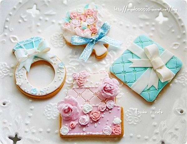 翻糖餅乾 - 婚禮系列
