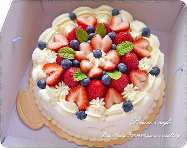 季節限定雙莓鮮奶油蛋糕8吋