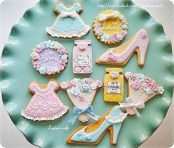 彩繪糖霜翻糖餅乾