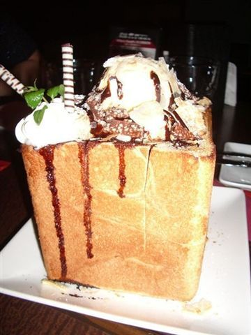 這就是傳說中好吃的冰淇淋土司啦!讚!