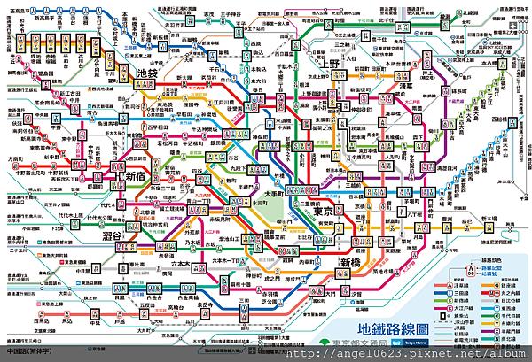 日本地鐵路線圖