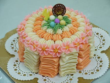 波浪蛋糕皂