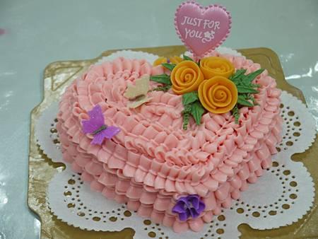 愛心蛋糕皂
