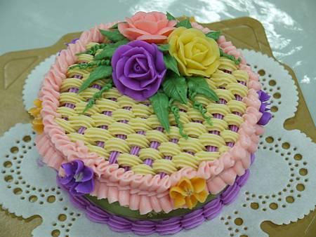 玫瑰蕾絲蛋糕皂