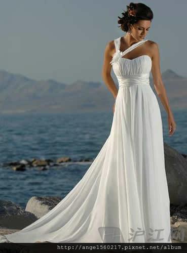 希臘式婚紗1