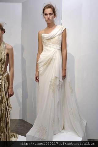 希臘式婚紗2