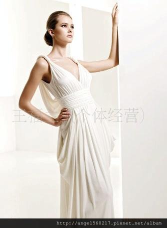 希臘式婚紗3