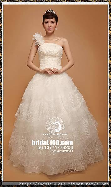 蛋糕裙婚紗2