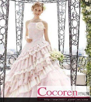 蛋糕裙婚紗3