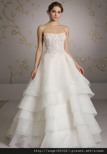 蛋糕裙婚紗4