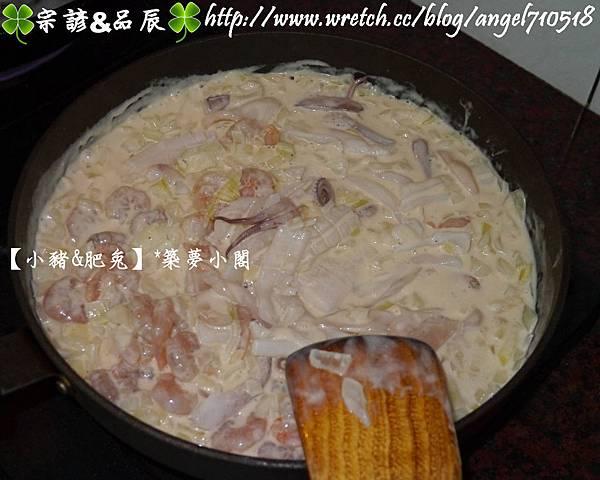 【食譜】海鮮義大利麵&燉飯07