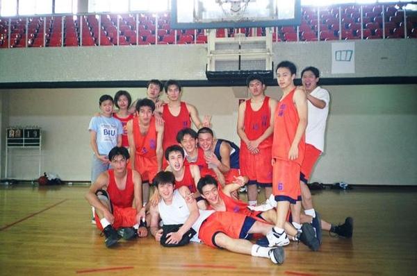 我第一次在籃球隊員面前落淚