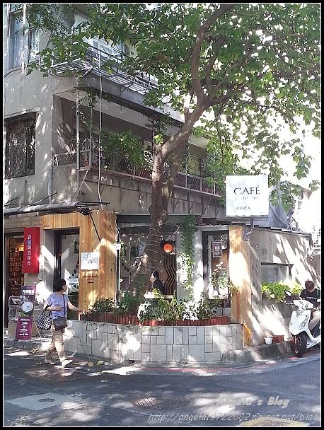20121026公園裡咖啡站01