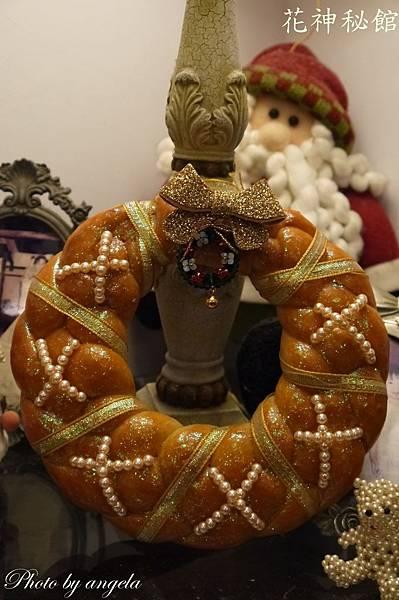 聖誕圈麵包