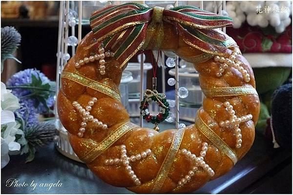 聖誕麵包圈