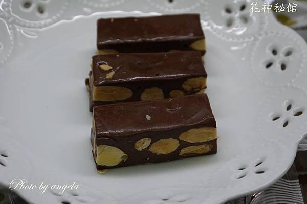 巧克力杏仁牛軋糖